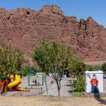 Vergnügungspark an der Grenze zu Aserbaischad