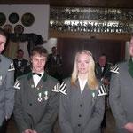 Piepenkönig Björn Christiansen mit Crew