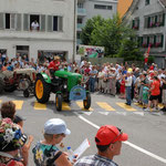 Traktoren-Oldtimer-Team Gross am Sihlsee