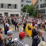 Alphornbläser und Fahnenschwinger-Vereinigung URI