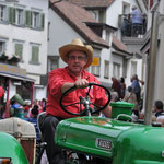 Traktoren-Oldtimer-Team Gross am Sihlsee