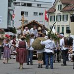 Sennenbruderschaft Innerthal mit Sennengesellschaft Feusisberg