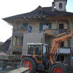 In Bau: Umbau Turm Leuzigen