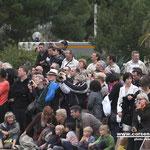 Une foule immense a assisté aux cérémonies