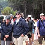 Les équipages ont répondu présents à la manifestation dans la pinède