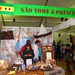 Le stand de Sao Tomé : A ne rater sous aucun prétexte