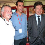 Francis Miot, triple champion du monde des confituriers, Paul Pierinelli et Emile Zuccarelli