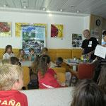 Atelier Effet Domino de l'association Hunamar sur le cycle de l'eau