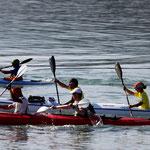 Une belle epreuve de kayak entre Calvi et la Revelatta