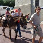 Promenade à dos d'âne, appréciée