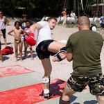 Un combat en demonstration