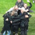 La joie des dirigeants du Sporting