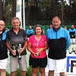Remise des trophées Umani à Marc Guidicelli et Sandrine Baldacc