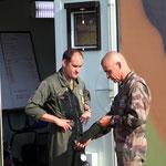 Dernière mission à Calvi pour le Lt colonel Legoaer
