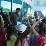 Atelier La Mer sans l'or noir de la DDTM Ajaccio