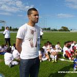 El Azzouzi : Les joueurs du Sporting se sont associés à la journée