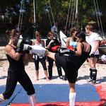 De plus en plus de femmes pratiquent la boxe