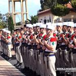 Le régiment rassemblé
