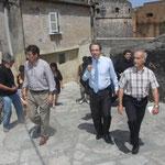 Emile Zuccarelli, Jean Zuccarelli et Louis Brusa : la CAB et l'Adec la main dans la main