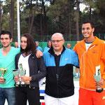 De gauche à droite M-A Sola, C. De Bernardi, B. Guidicelli et L. Lokoli.
