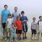 Leçon de squash avec Greg Gaultier
