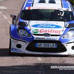 Julien Maurin sur Ford Fiesta S2000