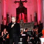 Présentation de la soirée par Ange Santini
