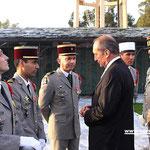 Le ministre s'est entretenu avec les décorés