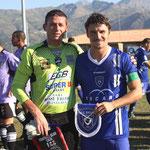 Les deux capitaines : Menozzi et Cahuzac