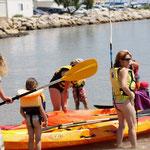 A la découverte du kayak