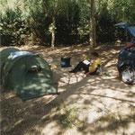 camping bij Riopar