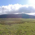 uitzicht op Sarlyk mountain