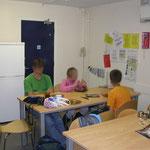Students dormitory. Keuken