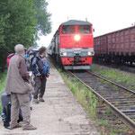 trein van Tumnin naar Vanino