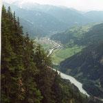 Uitzicht vanaf Piller Höhe