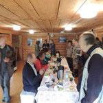 Teletskoye lake, veldstation, ontbijt
