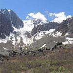 alpine habitat Aktru vallei
