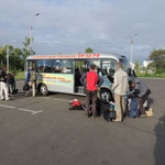 met de bus van Komsomolsk na Amur naar Khabarovsk