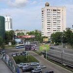 Khabarovsk (uitzicht vanuit het hotel)