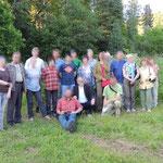Teletskoye lake, excursie deelnemers