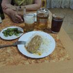ontbijt hotel Komsomolsk na Amur