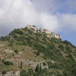 Mystras fort