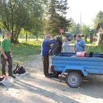 Artybash, Teletskoye lake