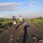 op weg naar Sarlyk mountain