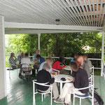 lunch nabij Gorno Altaisk