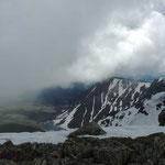 uitzicht naar het noorden vanaf Sarlyk mountain