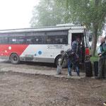 met de bus naar Tumnin spa