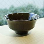 有田焼 黒唐津 陶器飯碗