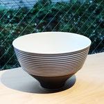 有田焼 呉須千段 藍 飯碗