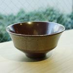 有田焼 柿赤 陶器飯碗